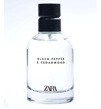 Zara Black Pepper & Cedarwood dekant 10ml